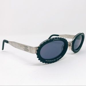 CHANEL Accessories - Chanel Camera Lens Sunglasses Vintage Collectors